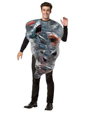 Sharknado Tornado Costume One-Size