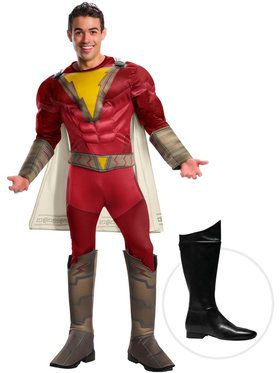 Shazam Adult Costume Kit