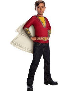 Shazam Costume Top Child