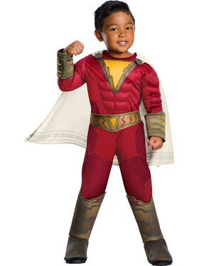 Shazam Toddler Deluxe Child Costume