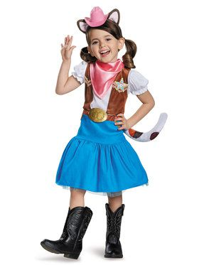 Sheriff Callie Classic Toddler Costume 2T