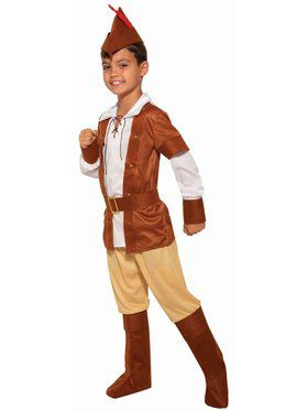 Sherwood Huntsman Child Costume