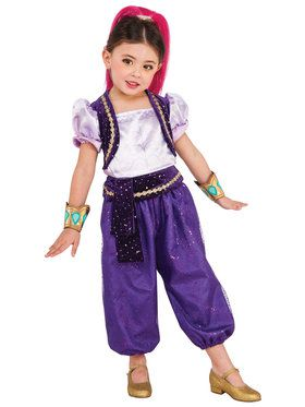 Deluxe Shimmer Toddler Shimmer and Shine Costume