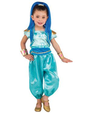 Deluxe Shine Toddler Shimmer and Shine Costume