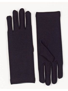 Short Dress Gloves - Black