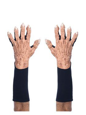 Short Flesh Monster Adult Gloves