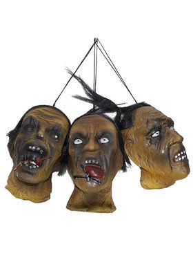Set of 3 Shrunken Heads