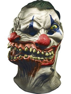 Adult Siamese Twin Clown 2018 Halloween Masks