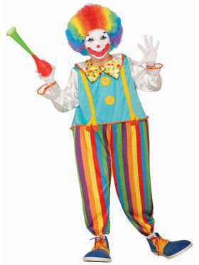 Silly Circus Clown Child Costume