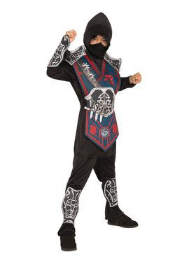 Silver Battle Kids Ninja Costume