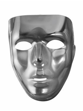 Full Face 2018 Halloween Masks - Silver