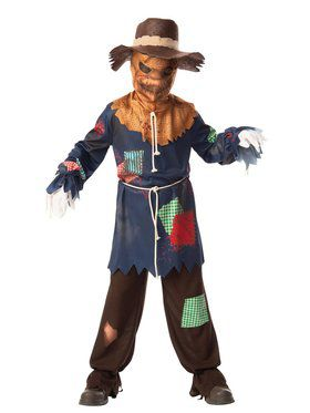 Sinister Scarecrow Child Costume