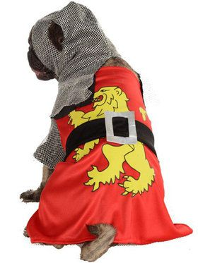 Sir Barks A Lot Knight Pet Costume Small