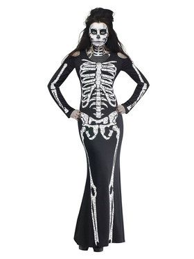 SKELELICIOUS Adult Costume  sc 1 st  BuyCostumes.com : skeleton costumes for women  - Germanpascual.Com