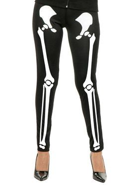 Skeleton Leggings Adult