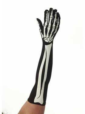 Skeleton Long Gloves