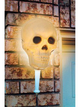 Skeletal Porch Light Cover