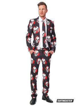 Skull Blood Suitmeister Adult Costume
