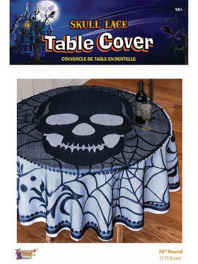 Skull Lace Tabelcover