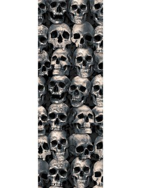 Skull Wall Backdrop Dcor