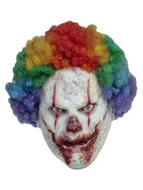 Slasher Clown Adult Mask