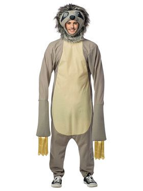 Sloth Adult Costume