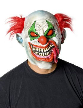 Clown Slurpee Tongue Costume 2018 Halloween Masks