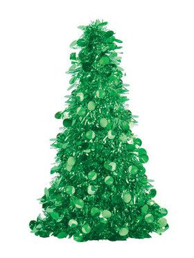 Small Green Tinsel Tree