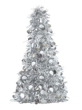Small Silver Tinsel Tree