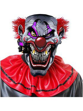 Smokin Joe Evil Clown Mask