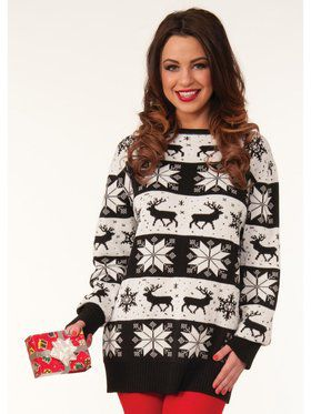 Snow Drift Christmas Sweater
