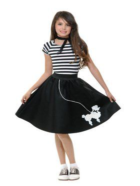 Sock Hop Sweetheart-Girl's Costume