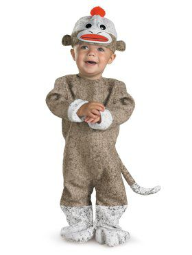 Sock Monkey Infant (12-18 Mos) Costume