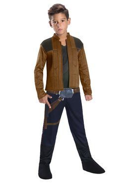 Boy's Solo: A Story Wars Story - Han Solo Costume
