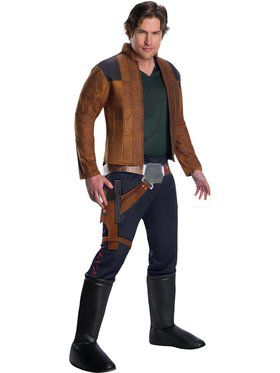 Solo: A Star Wars Story-Deluxe Han Solo Costume