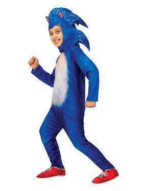 Sonic the Hedgehog Movie Sonic Deluxe Child Costume