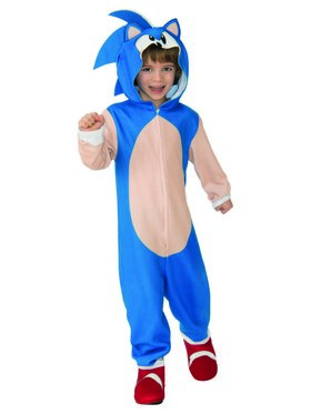 Sonic The Hedgehog Oversized Kids Jumpsuit