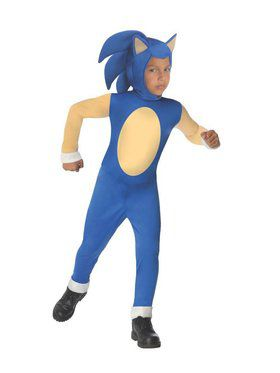 Child Sonic the Hedgehog Costume
