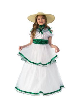 Girls Southern Belle Sweetie Costume