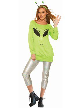 Spaced Out - Shirt, Leggings & Antennae - Standard