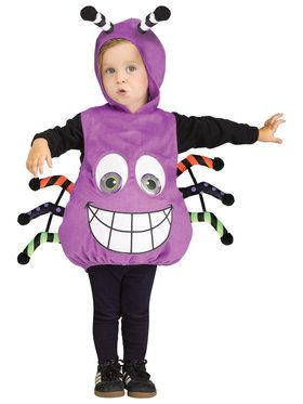 Spider Googly Eyes Infant Costume