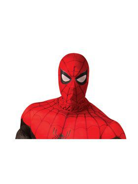 Spider - Man: Far From Home Adult Spider - Man Red/Black Fabric Mask