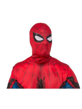 Spider - Man: Far From Home Adult Spider - Man Red/Blue Fabric Mask