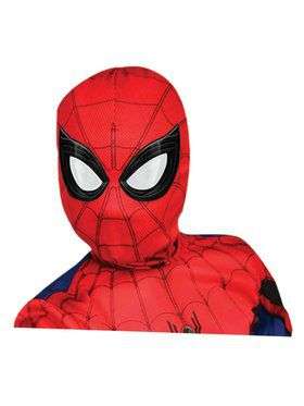 Spider - Man: Far From Home Deluxe Child Spider - Man Lenticular Fabric Mask