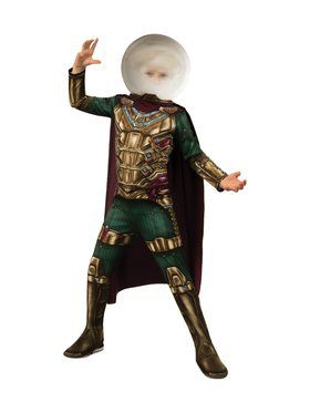 Spider - Man Far From Home: Mysterio Child Costume