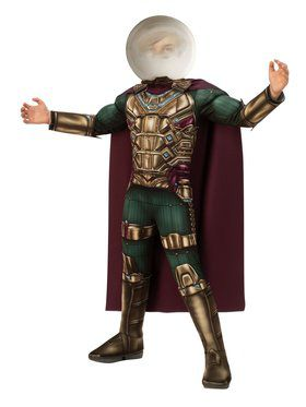 Spider - Man Far From Home: Mysterio Deluxe Child Costume