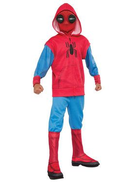Child Spider-Man Homecoming Hoodie Costume