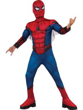 Child Spider-Man Homecoming Muscle Costume