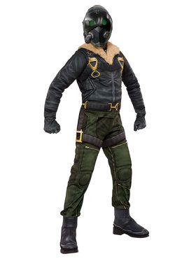 Child Spider-Man Homecoming Vulture Muscle Costume