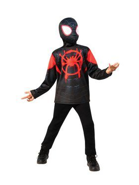 Spider-Man: Into the Spider-Verse Miles Morales Spider Man Child Costume